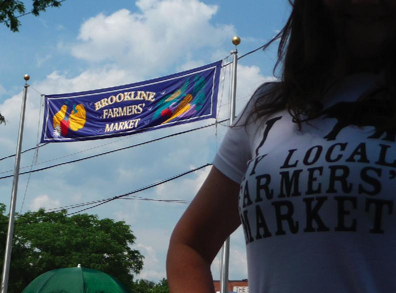 elephant journal Farmers' Market tee shirt