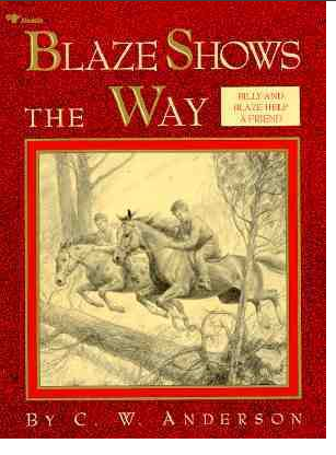 animal children's book blaze