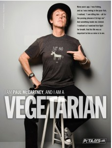 vegetarian paul mccartney peta