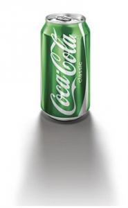 green coca cola eco