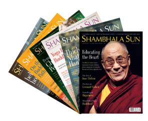 Shambhala Sun magazine subscribe