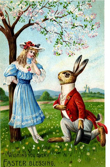 eastre rabbit easter