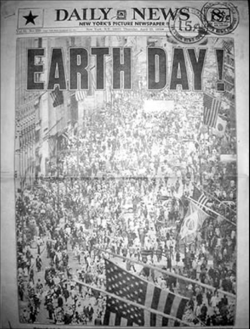 first earth day history