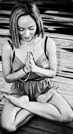 Padmasana Kino yoga oprah tv