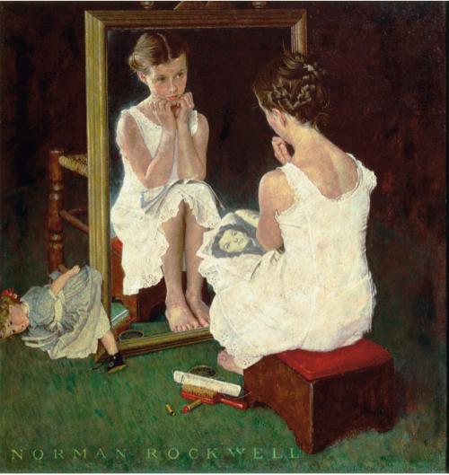yoga feminism mirror