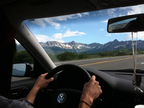 driving to telluride colorado