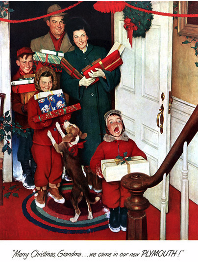 christmas presents rockwell