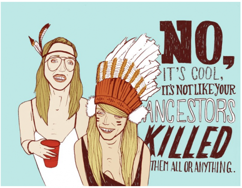 hipster indians appropriation native american