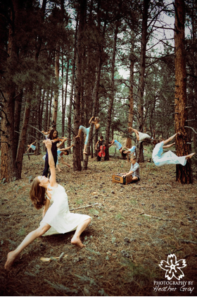 dance in forest 3