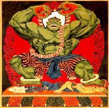 Buddhist Hulk
