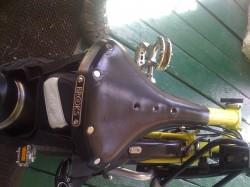 Brompton with Brooks saddle
