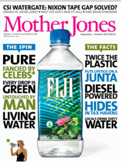 fiji plastic water bottle eco greenwashing
