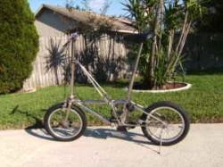 Dahon Stainless Steel Folding Bike