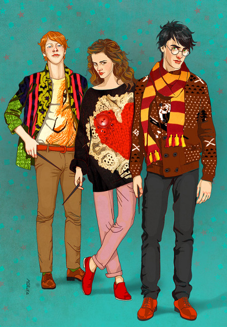 harry potter funny hipster