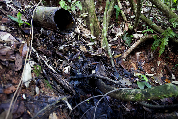 oil spill equador