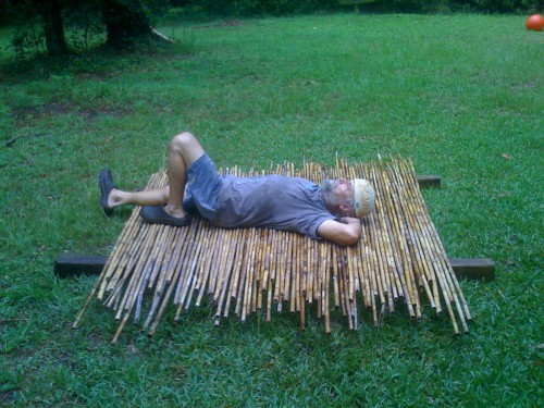 Super comfy Bamboo Bed