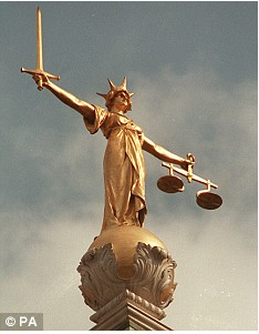 "Lady Justice does plenty of judging. She doesn't, however, prejudge. Notice the sword of ""prajna"" in her right hand."