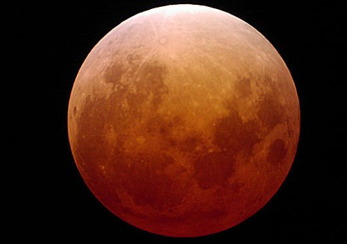 nasa's picture of a lunar eclipse