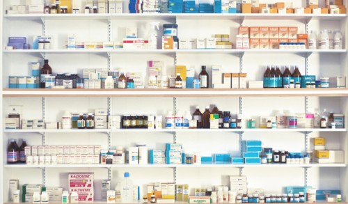 Pharmaceutical Shelves