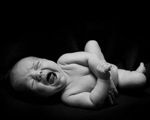 mad baby by midian, courtesy FlickrCC