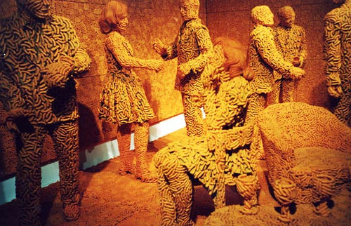 "Sandy Skoglund ""Cheetos"""