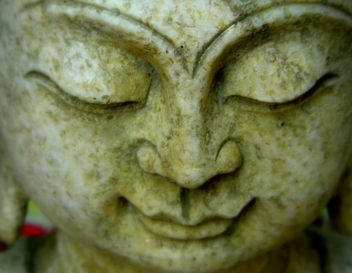 Buddha in Meditation Mystic Lens