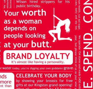 lululemon consumerism feminism buy shop funny