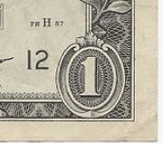 dollar bill elephant