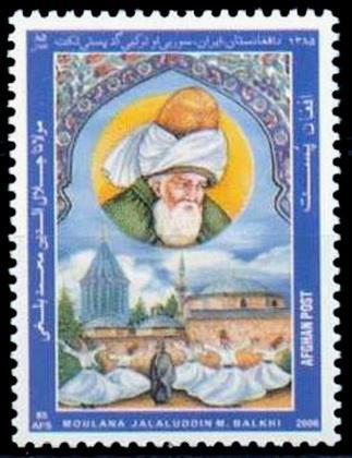 Stamp_from_Afghanistan_honoring_Mawlana_Jalaluddin_Balkhi_aka_Rumi