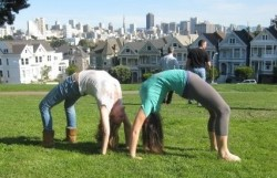 Backbending With A Friend