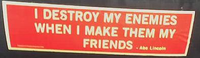 destroy enemies when make my friends lincoln