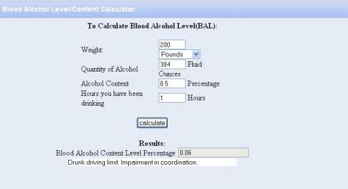 Blood Alcohol Content after Kombucha consumption
