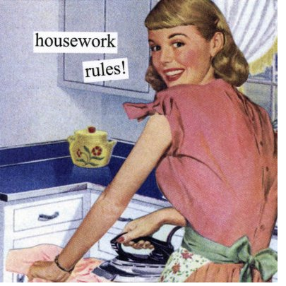 busy work housework cleaning yoga