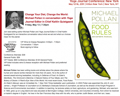 the american food problems in voting with your fork an article by michael pollan Pollan was a naturalist before he was a food writer, and he shows there is an ecology behind everything we eat, even when it's a mcdonald's cheeseburger this book changed the way many people.
