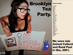 hipster tea party