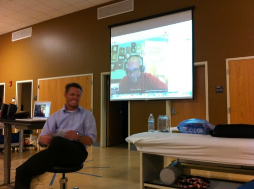 Bart Yasso speaks at University of Florida