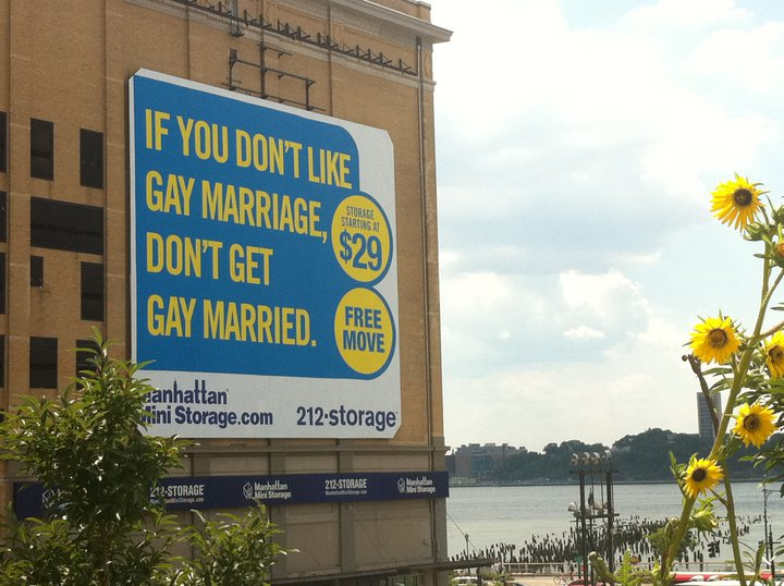 """""""If you don't like Gay Marriage, don't get Gay Married."""""""