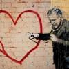 heart bansky