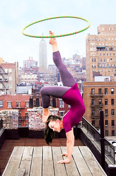 yoga wow hoop