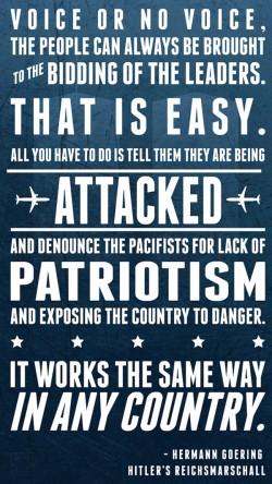 patriotism quote 9/11