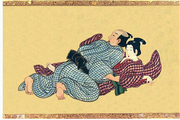 couple sex shunga japanese