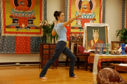 Rose-Teaching-Buddhist-Yoga