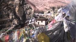 Mountain cliff hermitage