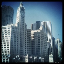 View of Chicago by Marlene Kelly