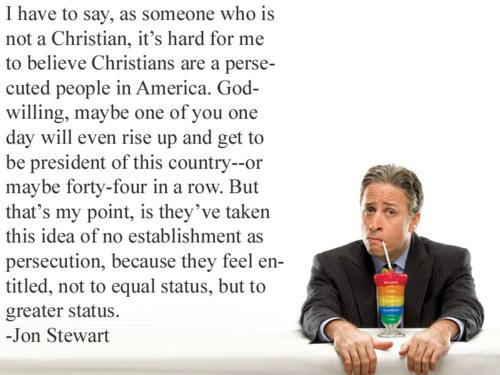 Jon Stewart beats back Fox News re Thanksgiving & Christmas ...