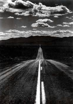 Ansel Adams, The Road, create, resolutions, new year, path, journey
