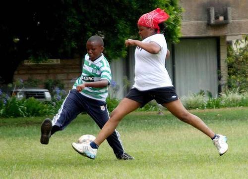 Nairobi soccer game