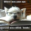 tv was called books