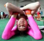 Pink Pretzel Girl