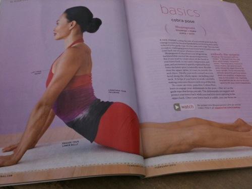 cobra pose in Yoga Journal